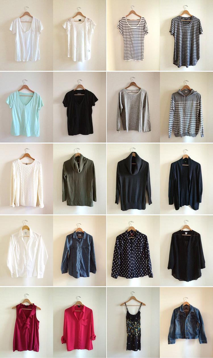 my minimalist wardrobe [winter]