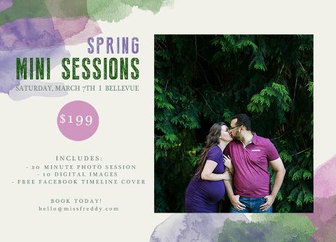 seattle mini sessions