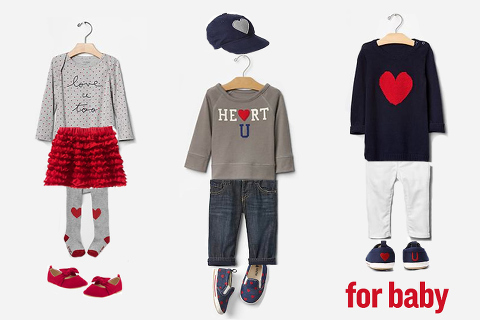 what to wear for a valentines photo session- baby outfits!