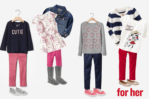what to wear for a valentines photo session- girls outfits!
