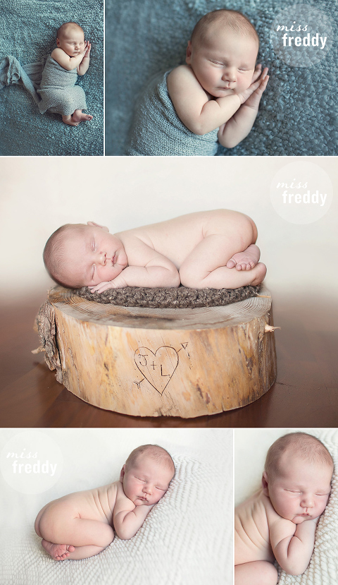 Beautiful lifestyle, in-home newborn session from Seattle newborn photographer, Miss Freddy!