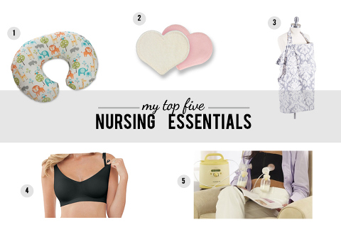 a great list of nursing essentials from an experienced mama!