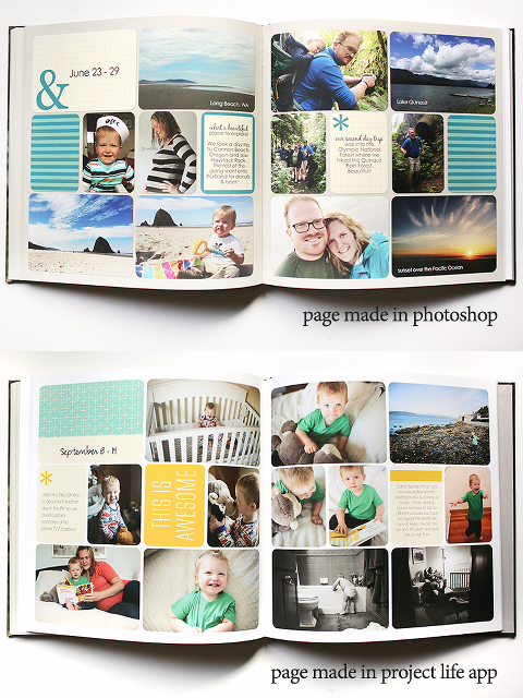 Family Timeline Picture Book Design Inspiration