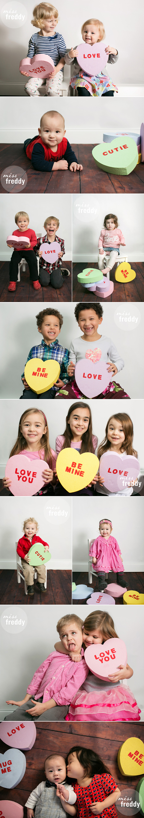A Valentines Photo Booth? What a fun & simple idea!!