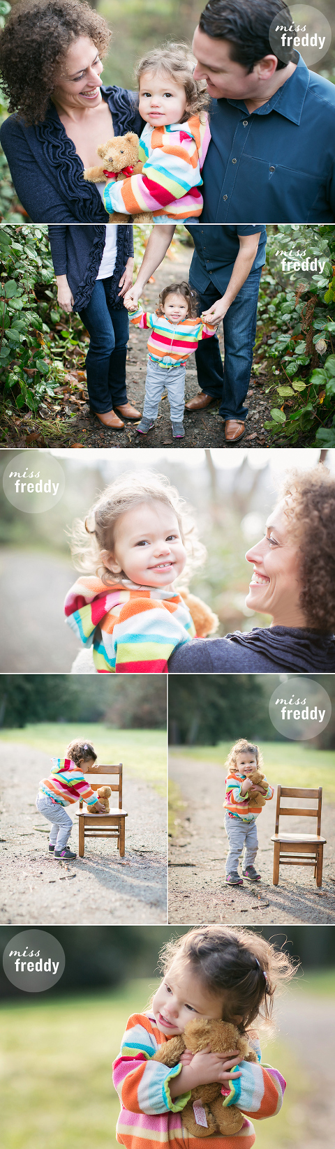 Love this family photo session by Miss Freddy, West Seattle kids photographer.