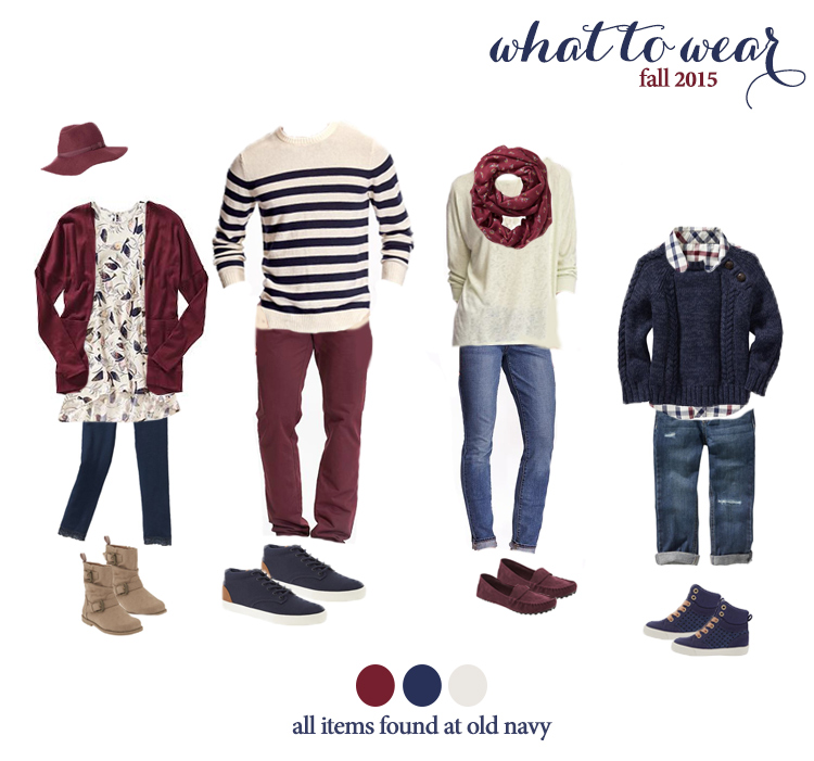 Fall Family Photo Ideas What To Wear what to wear fo...