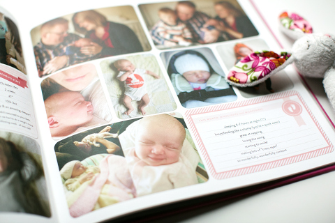 jill's project life baby book - Miss Freddy