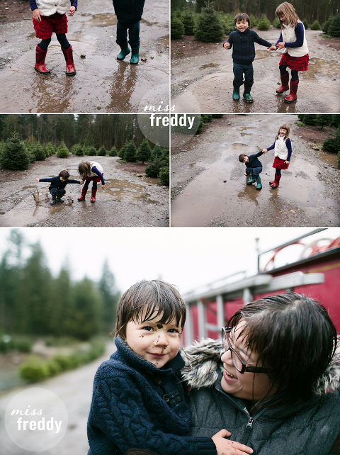 A photo session at Trinity Tree farm in Issaquah, WA by Seattle photographer, Miss Freddy.