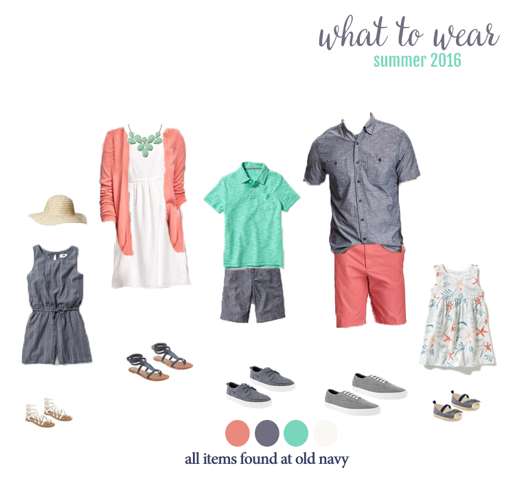 What To Wear For Summer Family Photos