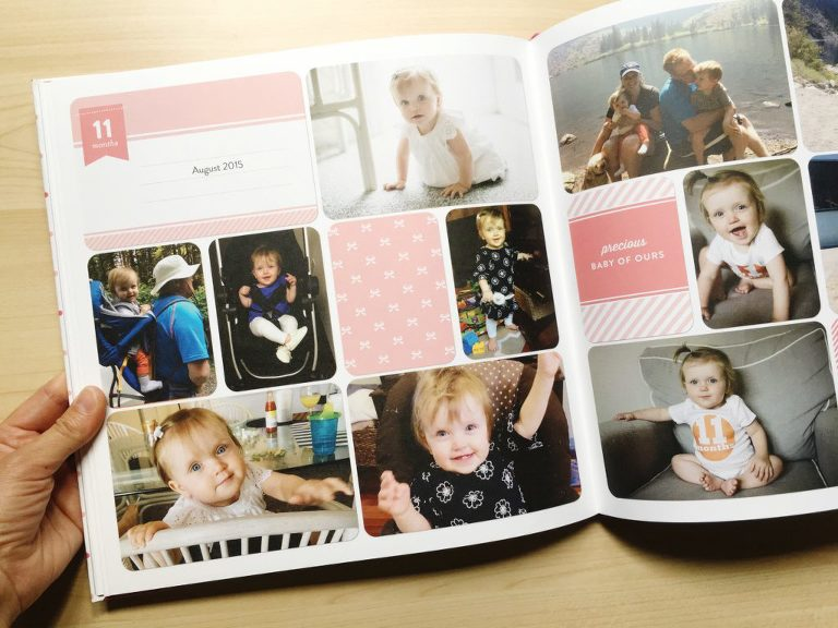 Have baby books been on your to do list for TOO LONG?  Check out this post for an easy way to complete a baby book that your family will love!