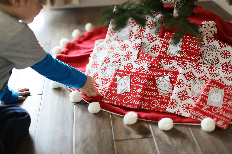 A fun holiday tradition... wrap 24 holiday books and unwrap one each night in December as a holiday book advent calendar. Includes free numbered gift tags!