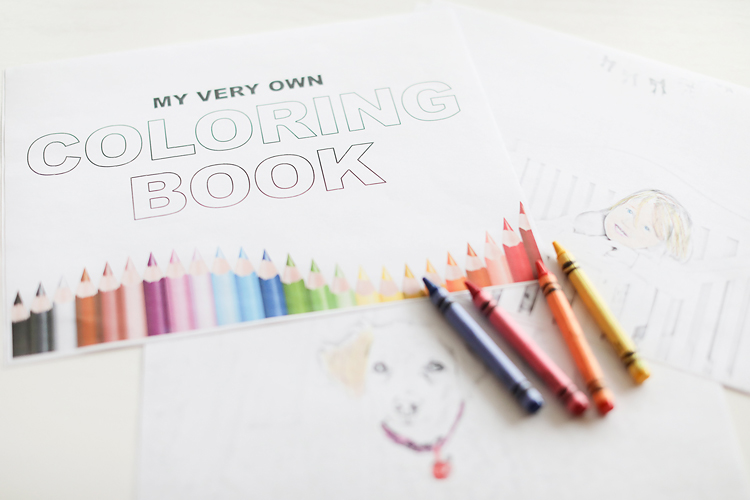 How To Make Your Own Coloring Book Pages Archives Miss Freddy