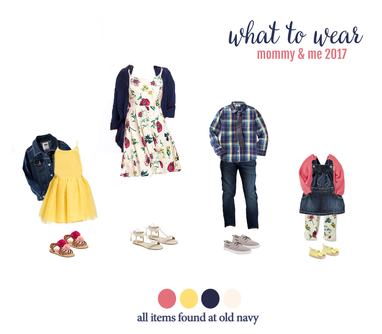 What to wear for mommy and me photos! Perfect for your photo session with Denver photographer, Miss Freddy!