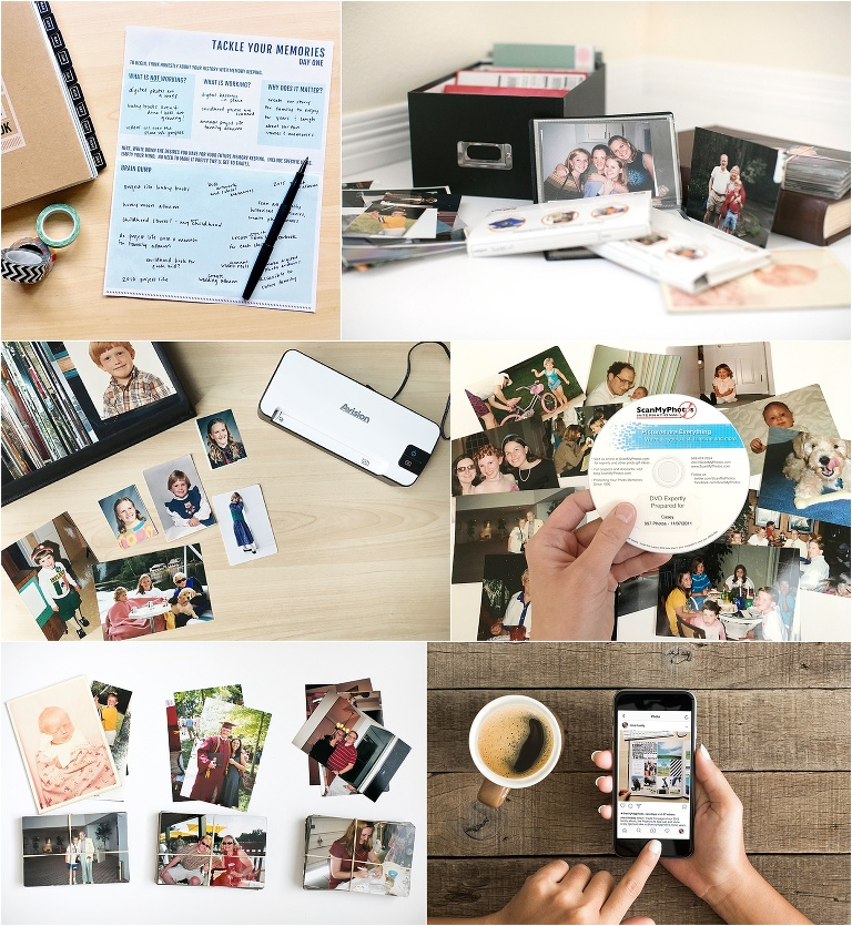 A FREE 10 day photo organizing challenge to help you make sense of your photo mess!