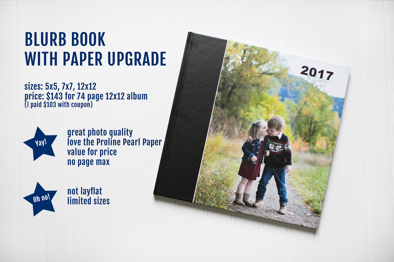 Not sure where to print your finished Project Life book? Check out this photo book company comparison with thorough reviews of SEVEN different photo books to help make the best decision!
