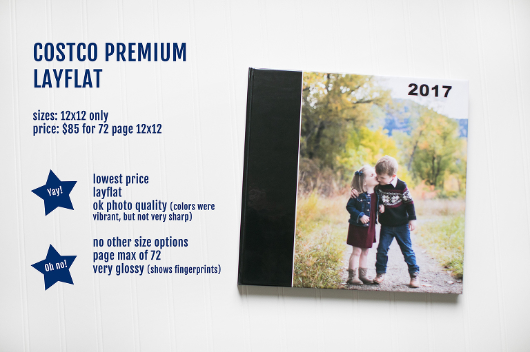 Costco Print Sizes >> Project Life Where Should You Print Your Photo Book Miss