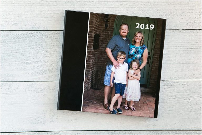 Make a beautiful, simple family yearbook that documents the highlights and stories from the year.  Your family will love it!